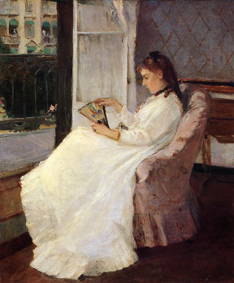 the artists sister at a window 1869 XX the national gallery of art washington dc usa